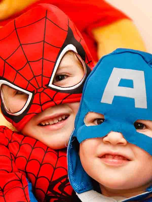 fetes super heros anniversaire spiderman enfant