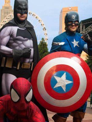 anniversaire super héros spiderman avengers garçon fete animateur