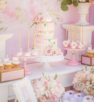 decoration sweet table gateau buffet