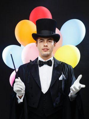 anniversaire thème magie pour enfant spectacle de magicien professionnel