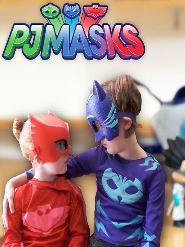 anniversaire enfant animation au thème Pyjamasks PJ Yoyo bibou gluglu