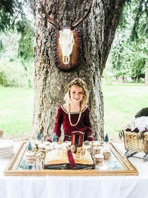 Anniversaire enfant monde de Narnia et Aslan pour fete organisation sur paris