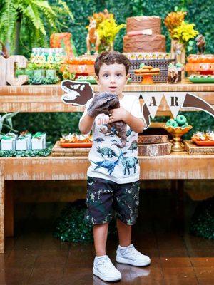 anniversaire enfant thème dinosaure tirex paléontologue tyrannosaure