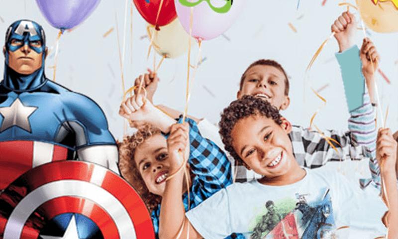 anniversaire Avengers super héros paris