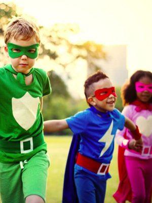 anniversaire enfant captain marvel super héros fete agence paris