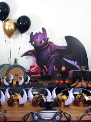 anniversaire pour enfants dragons