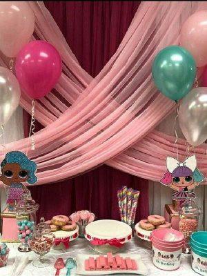 anniversaire poupée lol thème jeux enfants avec animateur agence paris