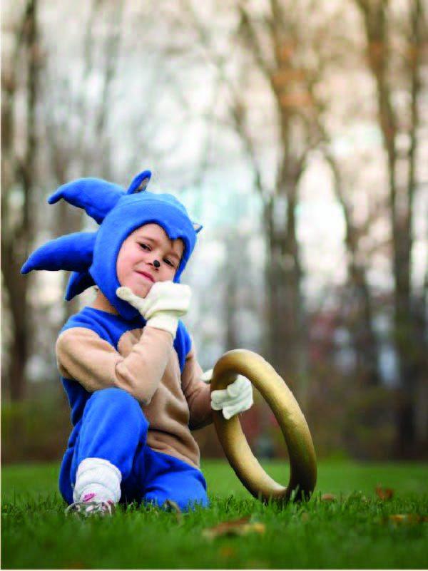 Anniversaire thème Sonic hérisson bleu pour garçon animation sur paris