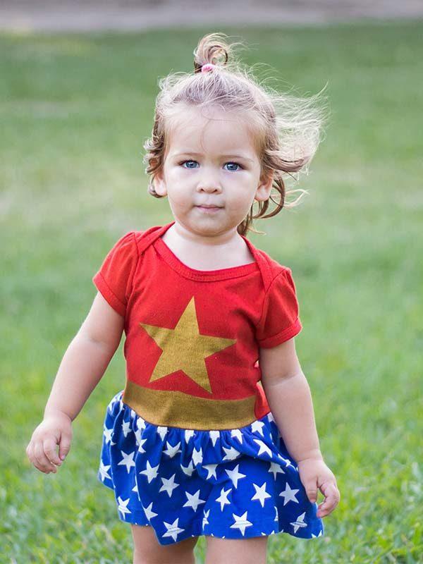 fete anniversaire enfant super heros wonder woman
