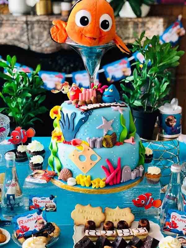 anniversaire enfant nemo poisson clown paris