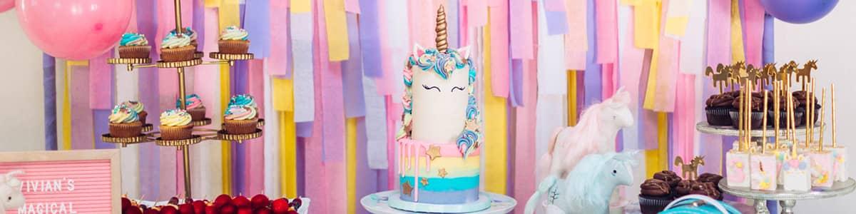 decoration anniversaire licorne fille organisation
