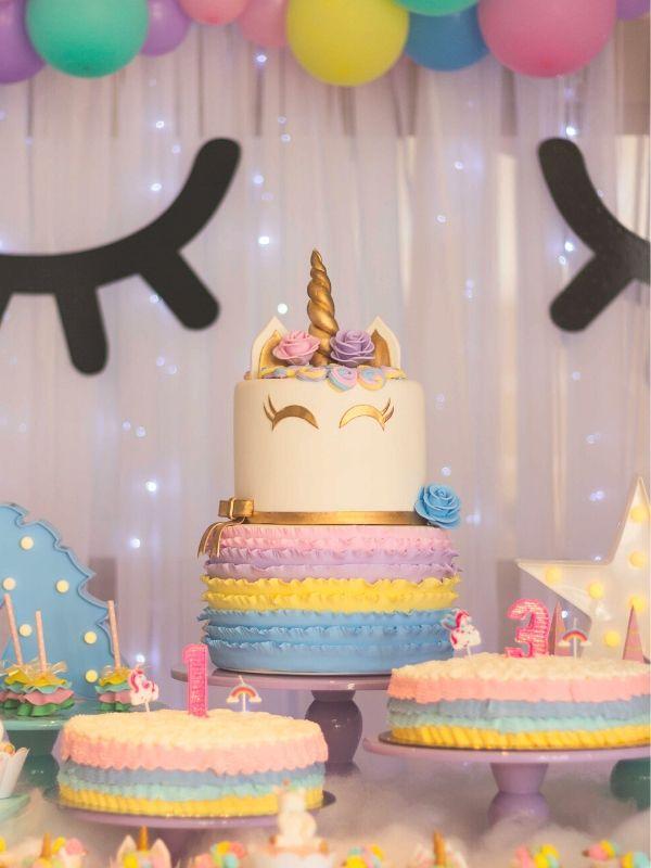 gateau anniversaire licorne animation enfant paris